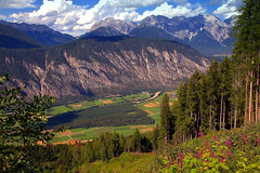 Inspiration of mountains and valleys - August in the Alps (mark.paradox) Tags: austria tyrol imstdistrict summer nature landscape view mountains beauty colors valley green clouds sky picturesque scenic travel hike adventure europe altitude inspiration