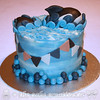 Killer Whale Birthday Cake