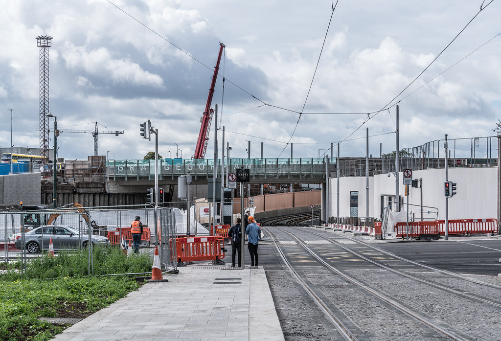 THE NEW LUAS TRAM STOP AT BROADSTONE [TESTING PHASE UNTIL EARLY DECEMBER]-1324718