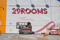Refinery29 (Always Hand Paint) Tags: 2017 29rooms artsculture b215 brooklyn danny draghi fashion gabe newyork niko ooh refinery29 refinery29progress tristan williamsburg advertising alwayshandpaint colossal colossalmedia handpaint mural muraladvertising outdoor progress skyhigh skyhighmurals summer sunny