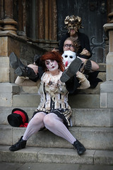 Asylum Steampunk Festival 2017 (Gordon.A) Tags: lincolnshire lincoln lincolncathedral asylum theasylum convivial lincolnasylum lincolnasylumsteampunk asylumsteampunk asylumsteampunkfestival lincolnasylumsteampunkfestival festival festiwal festivaali festivalen wyl festspiele steampunk steampunkstyle steampunkclothes steampunkfashion steampunklifestyle victorian neovictorian alternative cosplay costume creative culture lifestyle peoplewatching street event streetevent eventphotography amateur streetphotography streetportrait colourportrait colourstreetportrait group portrait portraitphotography naturalexpression naturallight naturallightportrait day daylight outside outdoor outdoorphotography steps town city citystreets urban urbanphotography canon canoneos750d