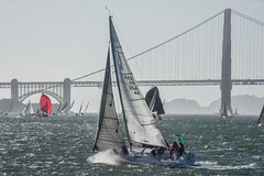 box of rain j:105 34ft (pbo31) Tags: sanfrancisco california nikon d810 color september 2017 summer goldengatenationalrecreationarea blue bay boury pbo31 sail rolex bigboatseries fortmason pier2 herbstpavillion race yacht harbor water sport teams marine sailing event annual 53rd goldengatebridge 101 bridge team crew group sunset westcoast