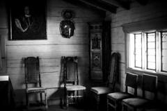 Interior from old house at Skanen in Stockholm, Sweden 29/8 2017. (photoola) Tags: stockholm skansen sv interiör monochrome blackandwhite photoola sweden interior djurgården
