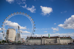 London Eye (Diego_Valdivia) Tags: europe uk reinounido unitedkingdom england inglaterra london londres travel urban landscape paisaje londoneye thames river rio tamesis