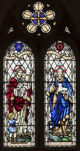 Coningsby, St Michael's church window