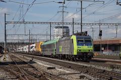 BLS Re 485 010 Pratteln (daveymills31294) Tags: bls re 485 010 pratteln traxx cargo