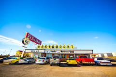 Route 66 Restaurant (Thomas Hawk) Tags: america newmexico route66 route66restaurant santarosa usa unitedstates unitedstatesofamerica neon restaurant us fav10 fav25 fav50