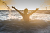 michelle 2 (darka.nl) Tags: swim beach zee skinnydipping