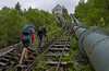 4444 steps (2) (Anders_3) Tags: flørli forsand lysefjorden rogaland norge norway stairs 4444steps worldslongestwoodenstairway fjord hiking boys nikond700 nature landscape mountains hydroelectricpower stavangerturistforening view ilovenorway florli rural 7s52919v2