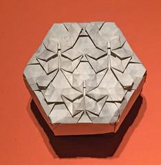 29-Rhombus twist galaxy (3 star) (mganans) Tags: origami tessellation box