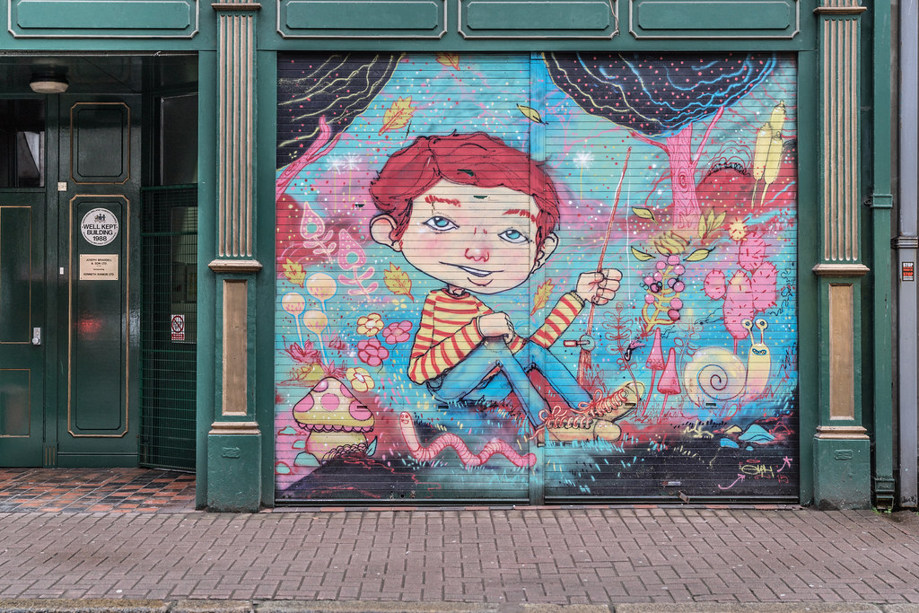 EXAMPLES OF URBAN CULTURE IN BELFAST [STREET ART AND GRAFFITI]-132924