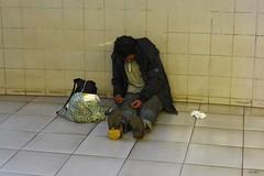 Somebody's Child (Eddy Allart) Tags: homeless addict junkie junky drugs pobre drogista verslaafde subway
