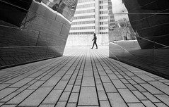 reflection (ThorstenKoch) Tags: street streetphotography stadt strasse schatten shadow silhouette düsseldorf blackwhite bnw fuji fujifilm xt10 lines linien pov pattern photographer photography