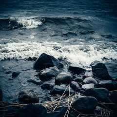 Päijänne (miemo) Tags: päijänne sysmä clouds em5mkii europe finland lake nature olympus olympus1240mmf28 omd rocks shore storm summer waves windy päijännetavastia fi