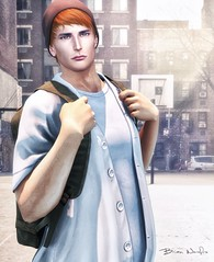 Colin... from Clef de Peau. (brian.werefox) Tags: findyours tmd the mens dept signature clef de peau stealthic catwa ikon lêtre bonobo school student