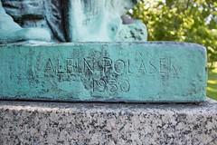 IMG_0014 A (mhellekjaer) Tags: 773 illinois chicago southside washingtonpark gottholdephraimlessing monument albinpolasek historicdistrict nationalregisterofhistoricplaces nrhp