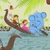 Kerala Snake boat race (chinuMeenu) Tags: snake boat racing nehrutrophy vallamkali