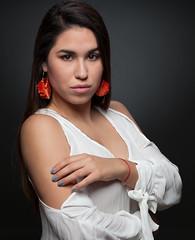 Solanye (AM.Foto) Tags: woman latina brunette strobist alienbees studio beautydish aleandmarkldodge amfoto