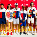 Angelique Kerber, Jo-Wilfried Tsonga, Garbine Muguruza, Alexander Zverev, Dominic Team