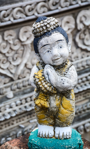 Cute statue for decoration at an ancient temple