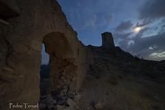castillo Xiquena (noche) (pedrojateruel) Tags: noche lorca xiquena castillo