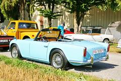Triumph TR4 30.7.2017 1887 (orangevolvobusdriver4u) Tags: rearlight rücklicht triumphengland triumph england triumphtr4 tr4 2017 archiv2017 car auto klassik classic oldtimer vintage bleienbach bleienbach2017 schweiz switzerland cabriolet cabrio convertible