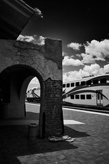 Santa Fe rail station (another_scotsman) Tags: santafe newmexico railroad station train track