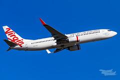 VH-YFG VA B738 34L YSSY-3140 (A u s s i e P o m m) Tags: mascot newsouthwales australia au virgin virginaustralia velocity va boeing b738 syd yssy sydneyairport