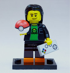 Brick Yourself Custom Lego Figure Pokemon Gamer