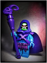 Skeletor (LegoKlyph) Tags: lego custom heman cartoon evil skeletor 80s retro saturday morning keldor childhood filmation