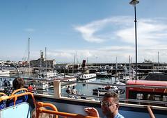 Ramsgate - View from open top bus 4 (philbarnes4) Tags: ramsgate thanet kent england ramsgateharbour water sea yachts philbarnes dslr nikond80 summer bluesky