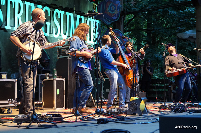 Greensky Bluegrass - Northwest String Summit, North Plains, OR - 07/13/17