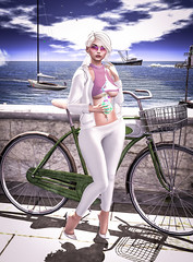 Olga Niki (Art Dreams SL) Tags: catwa hair second life sl fashion blog art post follow dream blogger outfit passion pretty nicely cute beautiful mesh lara hurley maitreya ~nerido~ summer flower jewel set re elektra nails rings shaved sea beach sun truth vip june sunglasses maddison redgrave sandy hoodie ncore scorpio white dolce belly piercing katat0nik bluegreen drink rare