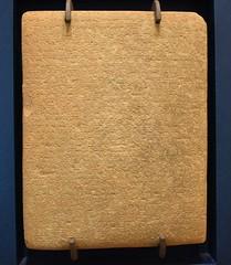 Account of the campaigns of Assurnasirpal II towards the east, 9th cent. BCE, National Museum, Copenhagen (Prof. Mortel) Tags: denmark copenhagen assurnasirpal iraq assyria assyrian
