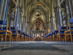 The Way Forward (Wizard CG) Tags: bristol cathedral hdr uk architecture gothic college green olympus epl7 ngc world trekker micro four thirds 43 m43 mzuiko digital ed tourist attraction light windows church building indoor