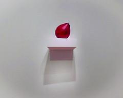A Party on a Shelf (Steve Taylor (Photography)) Tags: shelf balloon art digital sculpture artgallery pink red white newzealand nz southisland canterbury christchurch texture minimalism minimalist simple
