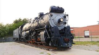 Santa Fe 2-10-4 5000 Steam Engine