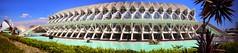 IMG_7344_stitch (AndyMc87) Tags: valencia stadt der künste wasser reflection pool architektur architecture sky blue clear palm stitch stiched panorama canon eos 6d 2470 l water stairs bridge travel sightseeing palau sofia santiago calatrava
