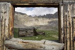 Window of Time (Aaron Spong Fine Art) Tags: mayflower gulch ruins mining cabins window mountains colorado breckenridge leadville