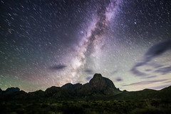 Milky Way over the Chisos - Big Bend NP, TX