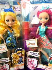 Back to School Blondie Locks & Meshell Mermaid (Christo3furr) Tags: mattel ever after monster high fashion doll blondie locks meshell mermaid princess royal rebel back school barbie