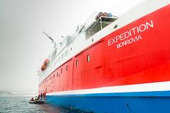 Motor Ship Expedition on Arctic Cruise (Bob Crawshaw) Tags: arctic seascape