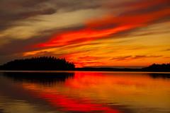 Burning sky (christianviktorsson) Tags: 50d canon sky red burning 18135