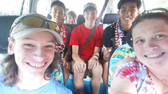 Welcome to the Ohana Nozo and Hiro (twobit94) Tags: okinawavisitsoahu selfie nozo hiro caleb james john tracey welcome