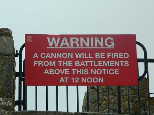 CannonWarning