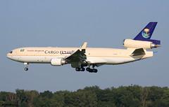 Saudi Arabian Cargo MD-11F HZ-ANC / BRU (RuWe71) Tags: saudiarabianairlines saudiarabiancargo saudia svsva saudiarabia jeddah mcdonnelldouglas douglascompany mcdonnelldouglasmd11 mcdonnelldouglasmd11f md11 md11f hzanc cn48776617 n91078 brusselsairport brusselszaventemairport brusselzaventem zaventem brusselsinternational bru ebbr planes airport spotter aviation vliegtuig luchthaven engines runway landing aeroplane aéroport avions aéronefs spotting airliner jetliner triholer flugzeug flughafen planespotting cargoaircraft cargo winglets aeropuerto aviónes freighter planespotter widebody heavy aviationphotography sunshine bluesky avgeek ruwe71 canon canonphotography