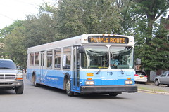 IMG_1322 (GojiMet86) Tags: panynj port authority jersey san diego mts metropolitan transit system nyc new york city bus buses 2001 d40lf 719 6008 purple route 23rd avenue 99th street