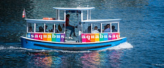 2017 - Vancouver - Aquabus (Ted's photos - For Me & You) Tags: 2017 bc britishcolumbia canada cropped nikon nikond750 nikonfx tedmcgrath tedsphotos vancouver vancouverbc vancouvercity vignetting aquabus aquabusvancouver vancouveraquabus ferry falsecreekferry falsecreek flag canadianflag rainbow rainbowcolours water reflection waterreflection wake boatwake cans2s jaybenford aquabusferry
