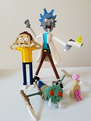 Lego Rick and Morty (-Solid-State-) Tags: lego rick morty moc custom alien plumbus toy