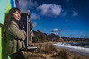 naomi170817-178-Edit (Naomi Creek) Tags: selfportrait selfdiscovery beach mornington sunny box colours colors colourful bathing waves ocean rugged windy little house girl woman alone free carefree australia scarf